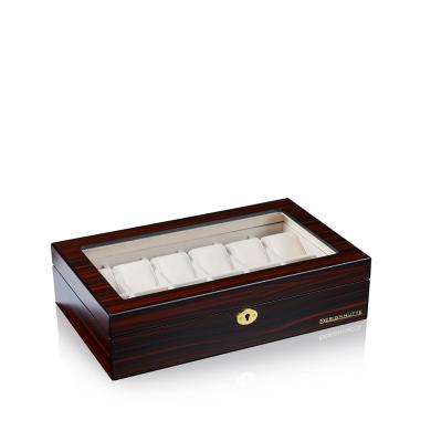 Кутия за часовници - Watch Box Auckland 12 - Brown, Black