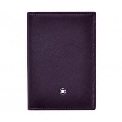 Визитник - Meisterstuck Sfumato Leather Business Card Holder - Dark Purple